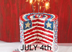July 4th Baking Recipes