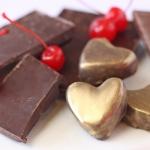 Cherry-Chocolate Heart Truffles