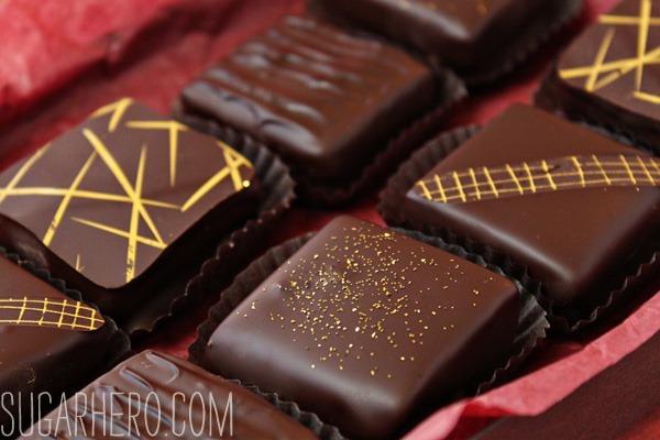 Caramel Shortbread Squares | SugarHero.com