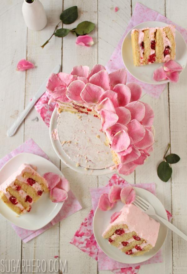 raspberry-rose-cake