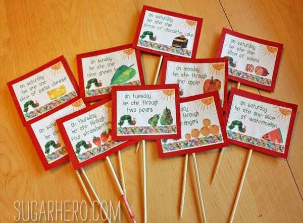 Very Hungry Caterpillar Party Ideas | SugarHero.com