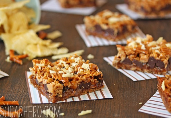 Dude Food Magic Bars | SugarHero.com