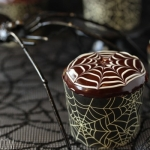 Spiderweb Cupcakes and Chocolate Spiders
