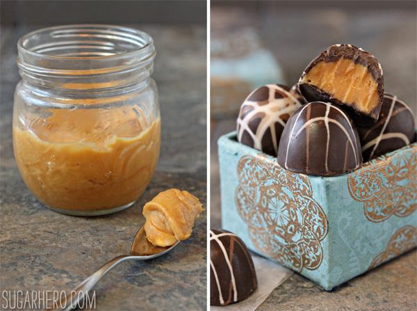 Caramelized White Chocolate Truffles | SugarHero.com