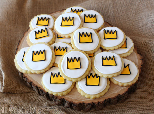 Where the Wild Things Are Cookies | SugarHero.com
