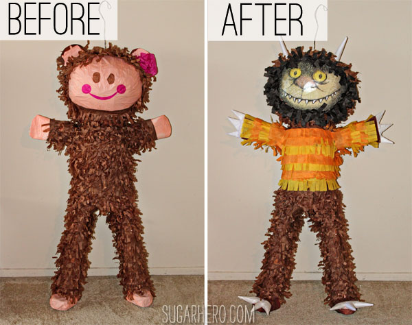 Where the Wild Things Are Pinata | SugarHero.com