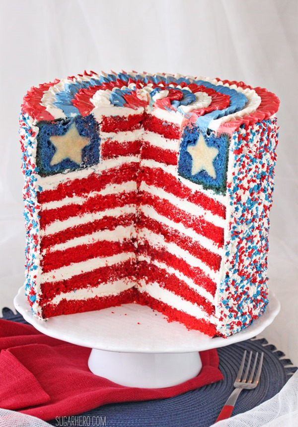 American Flag Cake Recipes — Dishmaps