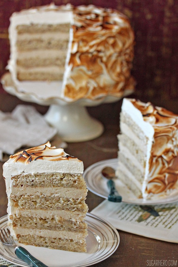 ... cinnamon caramel ganache layer cake recipes dishmaps cinnamon caramel