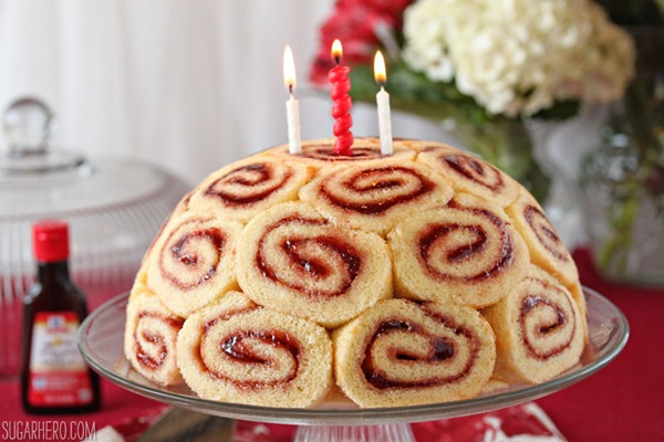 Charlotte Royale Swiss Roll Cake Sugarhero