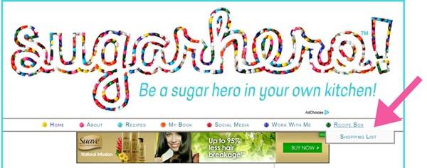 SugarHero is now working with Ziplist!