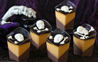 Chocolate Orange Panna Cotta   from SugarHero.com