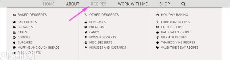 SugarHero menu bar